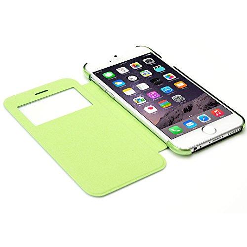 Monkey Cases® iPhone 6 PLUS - Flip Case - GRÜN - Premium - original - neu - Tasche - green