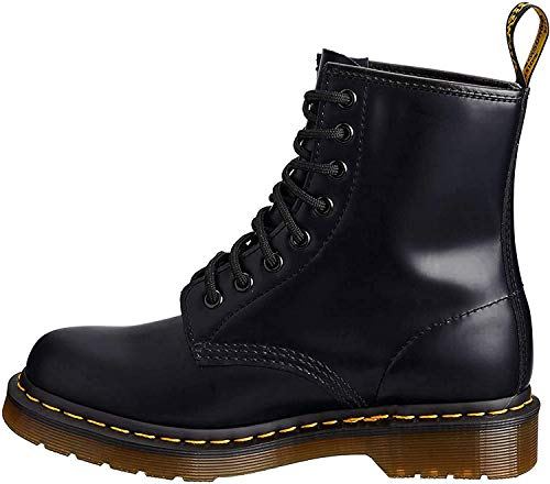 Dr. Martens, Women's 1460 Original 8-Eye Leather Boot, Cherry Red Smooth, 10 US Women
