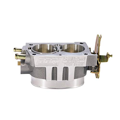 (BBK 1544 Twin 58mm Throttle Body - High Flow Power Plus Series For GM LT1 5.7L)