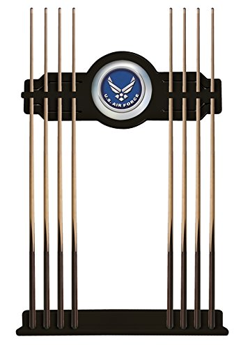 U.S. Air Force Cue Rack in Black Finish by Holland Bar Stool Co.