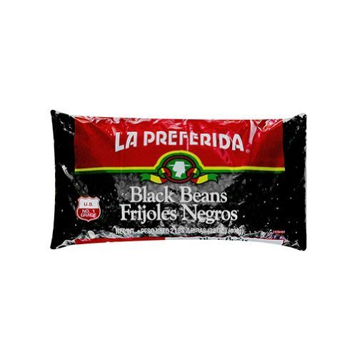 La Preferida, Bean Black, 2 lbs. (12 Pack) by La Preferida