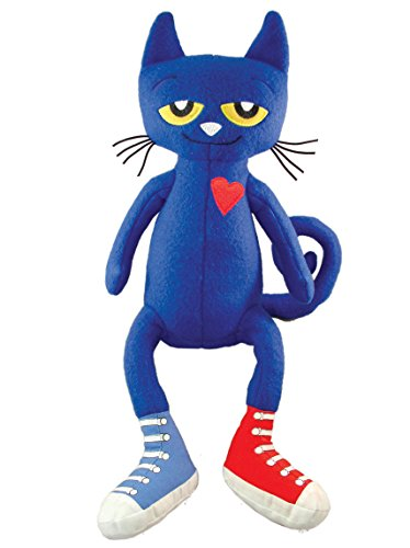 MerryMakers Pete the Cat Plush Doll, 14.5-Inch]()