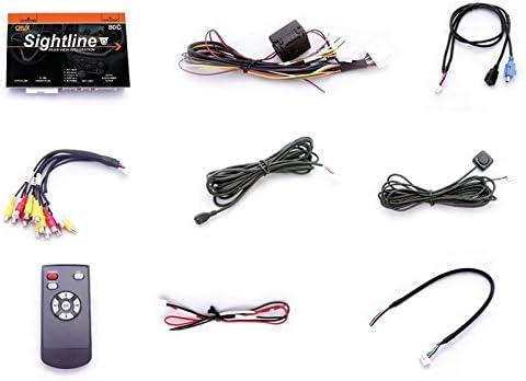 Crux RVCGM-80C CRUX RVCGM-80C Cadillac//Chevrolet//GM Rear-View Camera Integration Kit