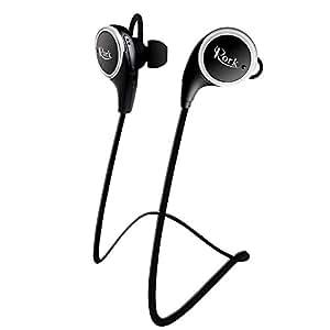 bluetooth headset rockrok wireless sport in ear headphones sweatproof earbuds with. Black Bedroom Furniture Sets. Home Design Ideas