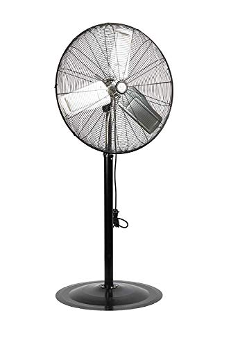TPI Corporation CACU24-PO Oscillating Commercial Pedestal Fan, 24