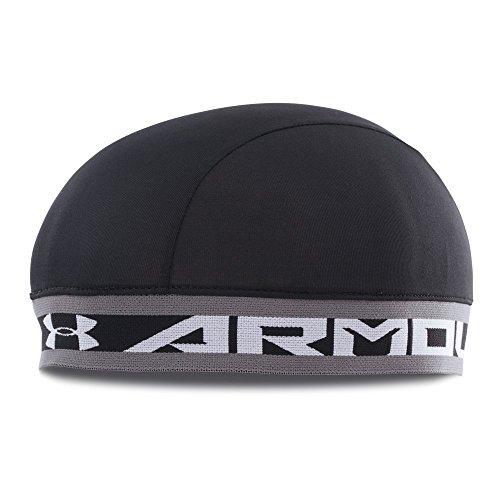 - Under Armour Boys' Basic Skull Cap, Black (001)/White, One Size