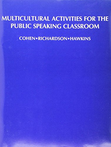 Multicultural Activities for the Public Speaking Classroom