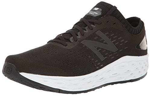 New Balance Men's Vongo V4 Fresh Foam Running Shoe, Black/Black Metallic, 10 D US
