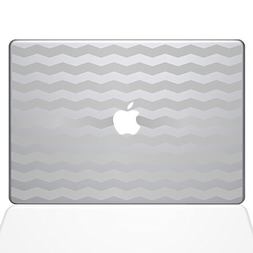 人気満点 The Decal Guru Chevron Pattern Decal Vinyl B0788G73RN Sticker The 15 Guru MacBook Pro (2016 & Newer Models) Silver (1383-MAC-15X-S) [並行輸入品] B0788G73RN, 神戸グラス:f272cac8 --- a0267596.xsph.ru