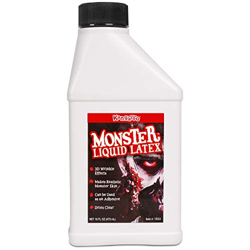 Kangaroo's Monster Liquid Latex - 16oz Pint - Creates Monster / Zombie Skin and -