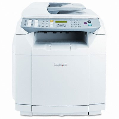 (Lexmark X502n Multifunction Color Laser Printer w/Copy)