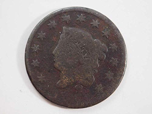 1826 P Coronet Large Cent Large Cents Ungraded