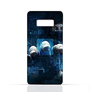 Samsung Galaxy Note 8 TPU Silicone Case With Dangerous Hacker Design