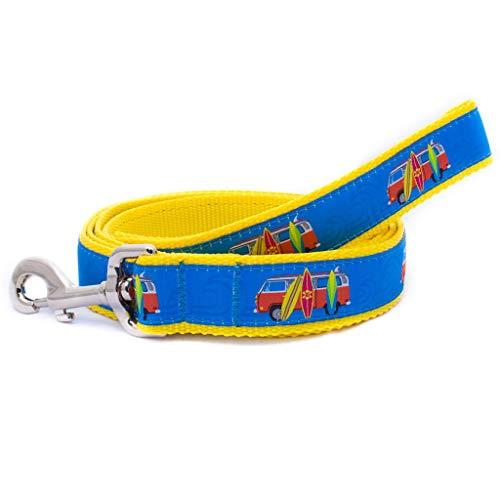 (Preston Pet Dog Leash 6-Foot Lead (Surfboard, 1.25 Inch Width))
