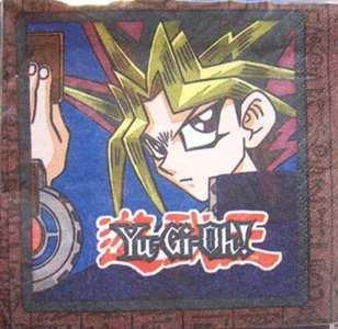 Yu-Gi-Oh Beverage Napkins (16) by American Greetings