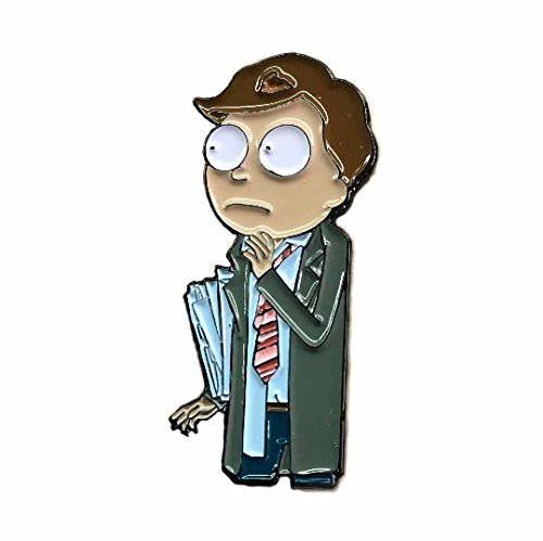 Lawyer Morty 'Better Call Morty' Rick and Morty Enamel Lapel Pin (Free POG with every order!!!) | Rick & Morty Season 3 Gift