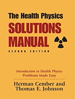 Amazon student solutions manual to accompany radiation health physics solutions manual 2nd edition fandeluxe Choice Image
