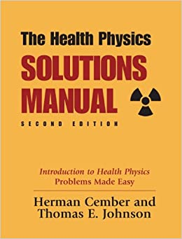 Amazon health physics solutions manual 2nd edition health physics solutions manual 2nd edition 4695 free shipping fandeluxe Image collections