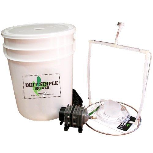 Dirt Simple 5-gallon Compost Tea Brewer by Earthfort
