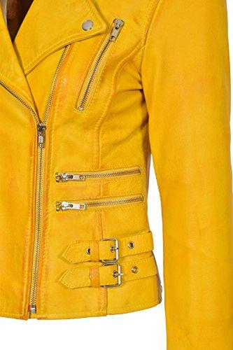 Veste Motard Style Cuir De Femmes De Ajust Trendy Filles qtCOwB