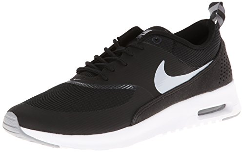 Nike Womens Air Max Thea Black Wolf Grey Anthrct White Running Shoe 9 Women US