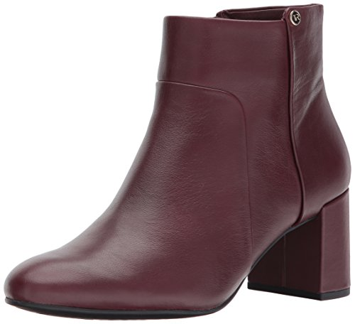 Fashion Wine Camille Rose Boot Cow Women's Taryn Silky wU7x18wq