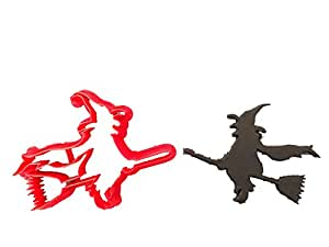 Halloween Witch Cookie Cutter (3 inches)