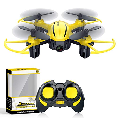 Drone for Kids Mini Drones with Altitude Hold Headless Remote Control Helicopter 2.4G 6-Axis Gyro Small RC Quadcopter with 3D Flip One Key Return Indoor Micro Airplane Flying Toys for Beginner Adults (Best Rated Remote Control Helicopter)