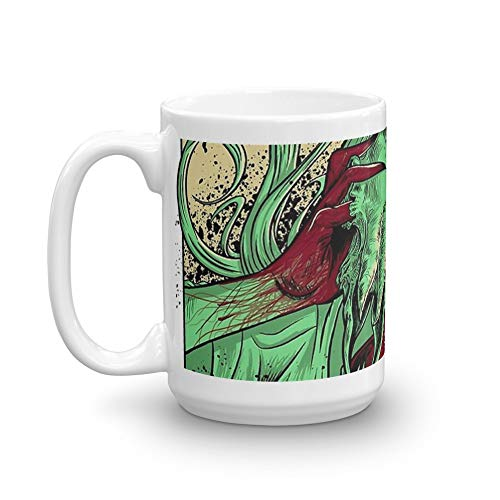 rangerpolocon heartless ram faced lady 15Oz Ceramic Coffee Mugs Cup Tea Perfect Gift For -
