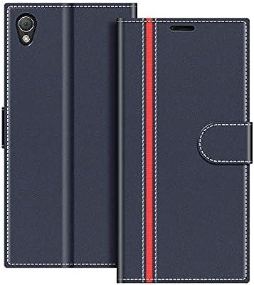 COODIO Funda Sony Xperia Z3 con Tapa, Funda Movil Sony Xperia Z3 ...