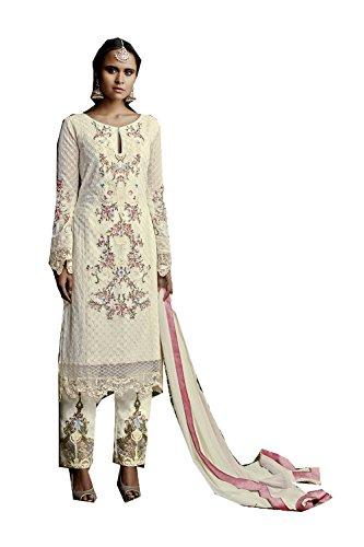 Women Designer Kameez Da Kameez Traditonal Facioun Ethnic 8 Salwar Indiane Indian Salwar Beige Partywear Etnica Da Beige Donne Progettista Facioun Traditonal Partywear 8 A8w4EnFx