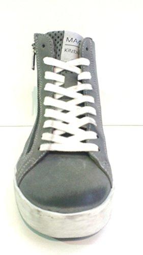 Maca Kitzbühel Schnürboot, Antikleder light grey, herausnehmbares Fußbett für eigene lose Einlagen, 2013