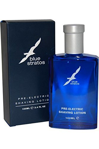 Blue Stratos Pre-Electric Shaving Lotion 100ml. Yet another classic smell from the 70s, A popular choice with men who experienced the very refreshing fragrance the first time around.