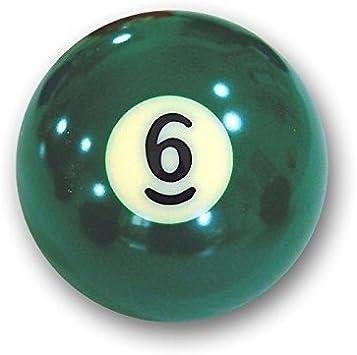 Bola de billar americano suelta 57,2mm no 6: Amazon.es: Deportes y ...