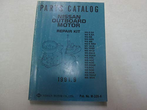 1991 Parts Catalog Nissan Outboard Motor Repair Kit M-320-A Factory OEM ***