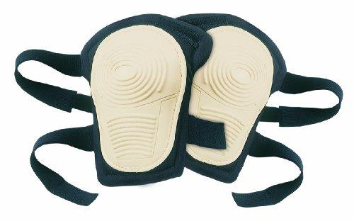 Rubber Non Skid Knee Pads (CLC Custom Leathercraft V234 Stitched, Flex Rubber, Non-Skid Kneepads with Hook and Loop Fastener)