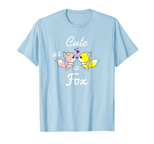Cute Fox T-Shirt Love Foxes Pink and Yellow Fox Shirt by Fox (Image #2)