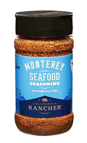 Monterey Seafood Seasoning by California Rancher - GMO free - better than Old Bay - (Monterey Dill)
