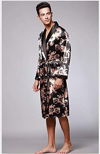 Uomo 102 Casual Da E Notte Pajama Camicia Abbigliamento Autunno Classiche Ragazzi Accappatoio gPatqWpS