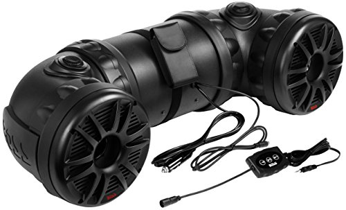 BOSS Audio ATV85B Bluetooth, Amplified,  ATV/UTV Sound System, Weather-Proof Marine Grade, Bluetooth...