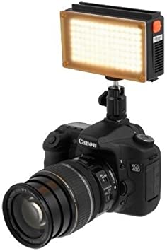 KINOSUN LED144A Light Daylight dimmable on Camera Camcorder DSLR Photo Video