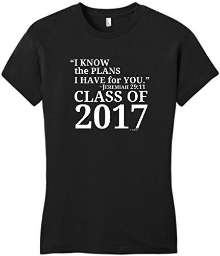 Christian Graduation Gift Jeremiah 29:11 Class 2017 Juniors T-Shirt