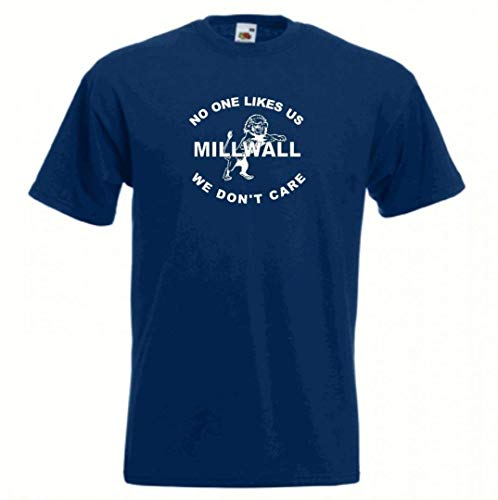 Invicta Screen Printers Camiseta Fútbol Millwall FC Nobody Likes Us T-Shirt Todas Las Tallas Disponibles