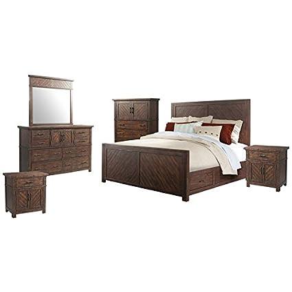 Amazon.com: Picket House Furnishings Dex 6 Piece King ...