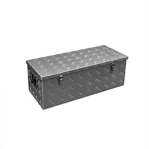 CG Car Professional 340103strumento Box in alluminio per rimorchio