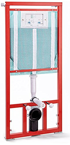 Pucci Eco 4 9 Lt Module for inssizetion of Suspended Toilet Front to the Walls Masonry or for Walls prefabbricate Read (Drywall). Control Plate Not Included