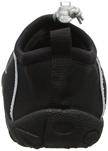 Black Lisbona Neoprene Aqua Water Néoprène Sphere En silver Plage Eau Noir Chaussures Mixte De 4475q