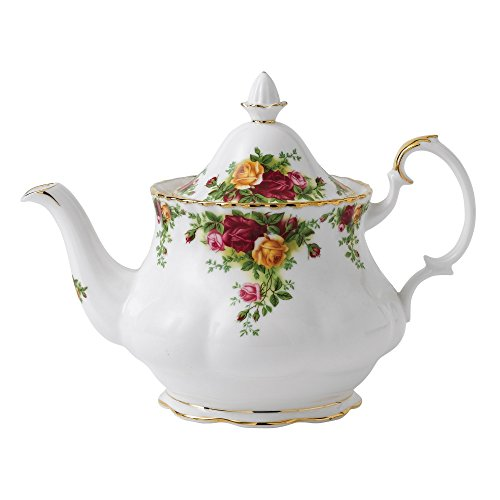 Royal Albert Old Country Roses - Time Tea Teapot