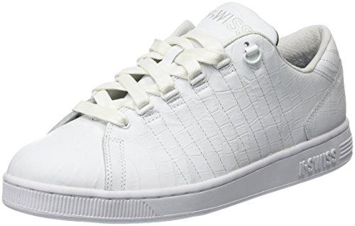 K-Swiss Herren Lozan Iii TT Croco Low-Top Weiß (White/Black 102)