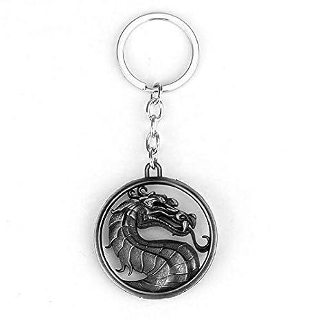 Amazon.com: YPT - Llavero con símbolo de dragón de Kombat ...
